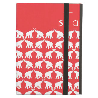 Red elephant cover for iPad air
