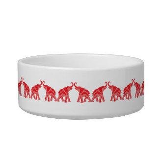 Red Elephant Dog bowl