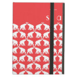 Red elephant iPad cover