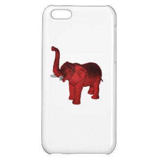 Red Elephant iPhone 5C Case