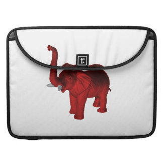 Red Elephant Sleeves For MacBooks