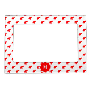 Red Elephant Magnetic Photo Frame