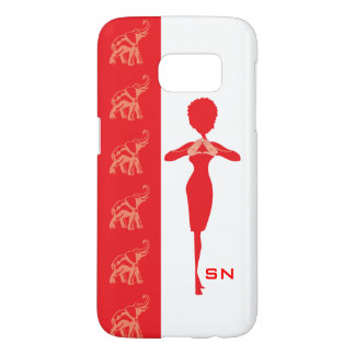 Red Elephant Samsung Galaxy S7 Case