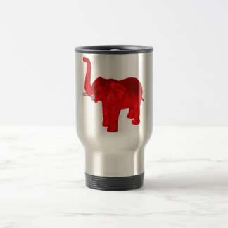 Red Elephant Travel Mug