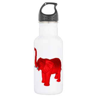 Red Elephant Water Bottle