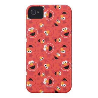 Red Elmo Faces Pattern iPhone 4 Case-Mate Cases