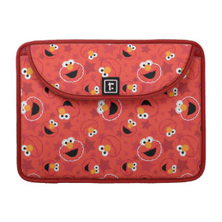 Red Elmo Faces Pattern MacBook Pro Sleeves