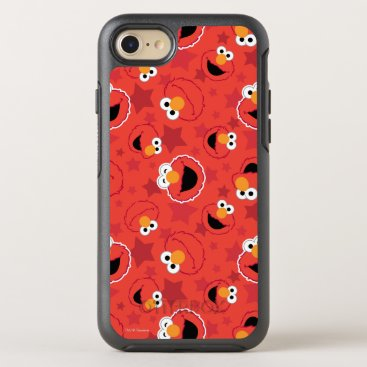 Red Elmo Faces Pattern OtterBox Symmetry iPhone 8/7 Case