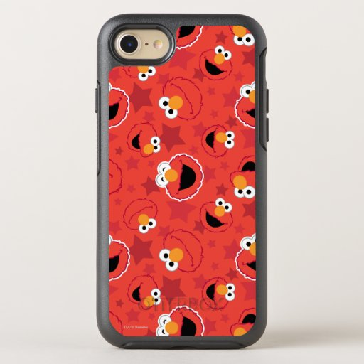 Red Elmo Faces Pattern OtterBox Symmetry iPhone SE/8/7 Case