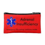 Red Emergency Kit Case: Life-Saving Steroids Makeup Bag at Zazzle