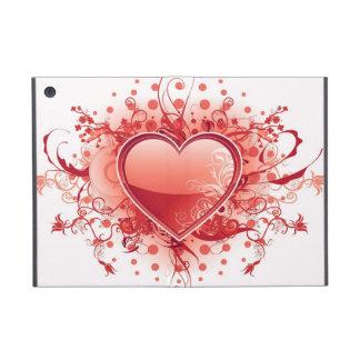 Red Emo Heart iPad Mini Cover