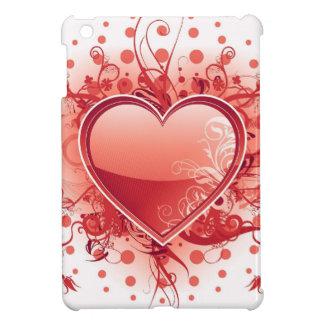 Red Emo Heart iPad Mini Covers