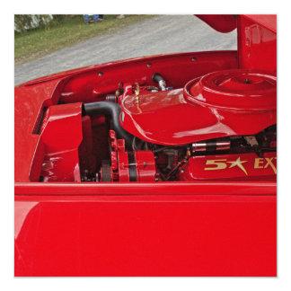 Red engine invitations