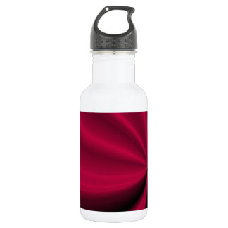 Red Enigma Unfolding Cloth Look Stainless Steel Water Bottle