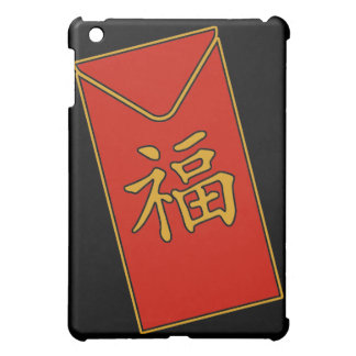 Red Envelope Motif iPad Mini Cases
