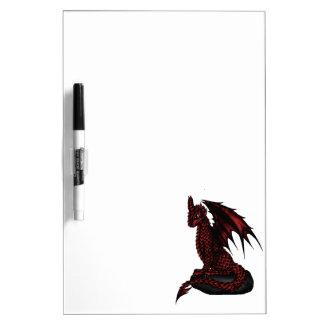 red epic Dragon Dry-Erase Board