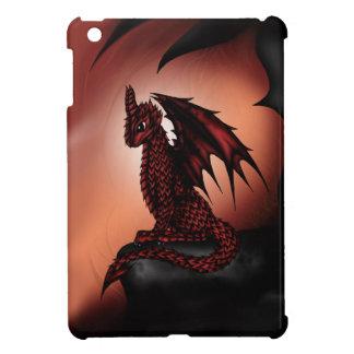 red epic Dragon iPad Mini Covers