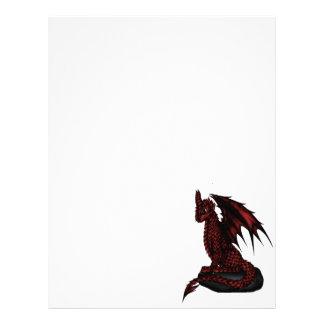 red epic Dragon Letterhead