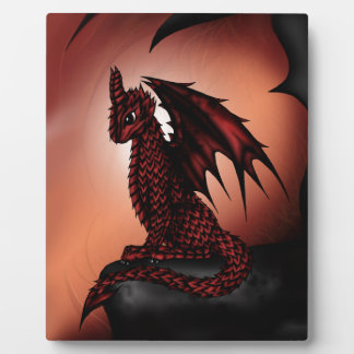 red epic Dragon Plaque