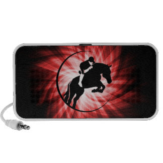 Red Equestrian Portable Speaker