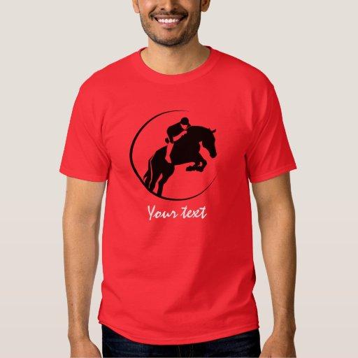Red Equestrian T-shirt