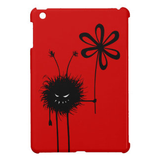 Red Evil Flower Bug iPad Mini Cover