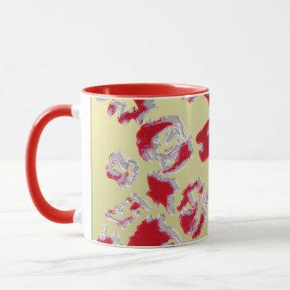 Red examined mug