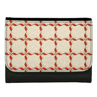 Red examined wallet