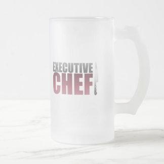 Red Executive Chef Coffee Mugs