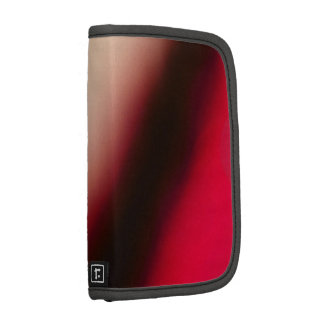 Red Explorer Abstract Folio Planner