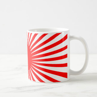 Red Explosion Mug