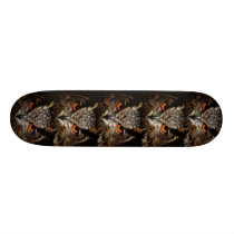 red eye borwn owl skateboard 8 1/8""