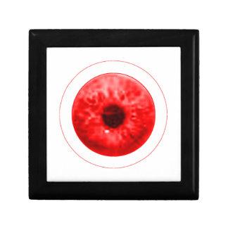 Red Eye Eyeball jGibney The MUSEUM Artist Serie Keepsake Box