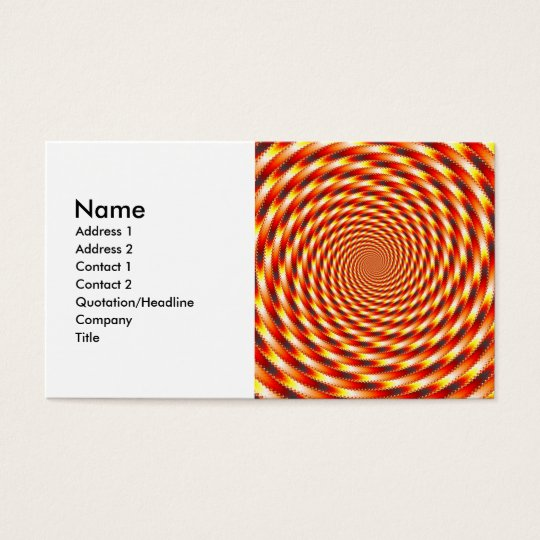Red Eye - Fractal Business Card
