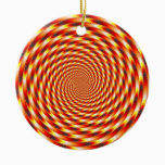 Red Eye - Fractal Ceramic Ornament