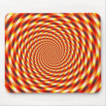 Red Eye - Fractal Mouse Pad