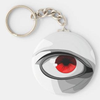 Red Eye Llavero Redondo Tipo Pin
