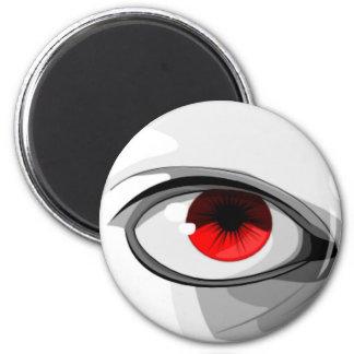 Red Eye Refrigerator Magnet
