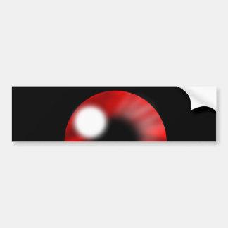 Red Eye Orb Bumper Sticker