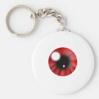 Red Eye Orb Keychain