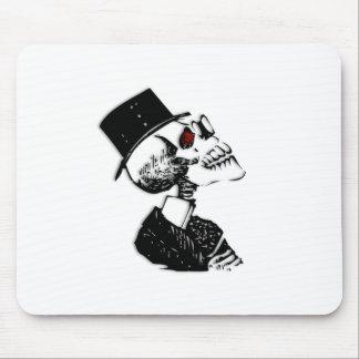 Red Eye Preacher Skeleton Mouse Pad