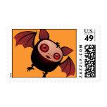 Red Eye the Vampire Bat Boy Postage Stamp