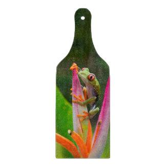 Red-eye tree frog, Costa Rica 2 Cutting Board