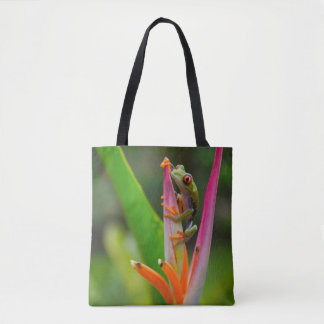 Red-eye tree frog, Costa Rica 2 Tote Bag