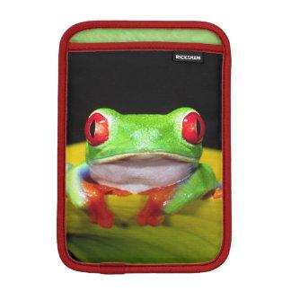 Red Eye Treefrog, Agalychinis callidryas, Native Sleeve For iPad Mini