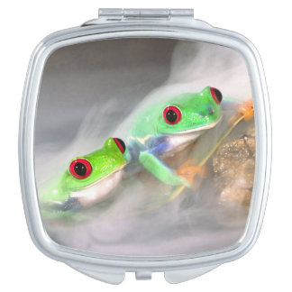Red Eye Treefrog in the mist, Agalychinis 2 Mirror For Makeup