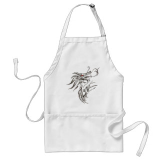 Red-Eyed Dragon Adult Apron