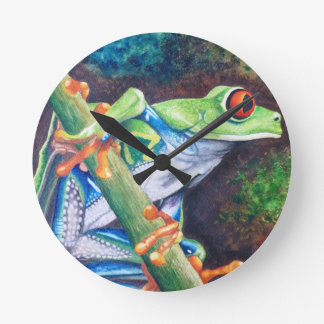 Red-eyed Frog Clock