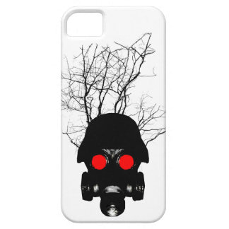Red Eyed Gas Mask iPhone SE/5/5s Case