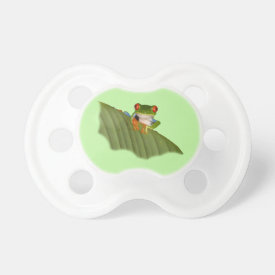 Red Eyed Gaudí Frog Pacifier